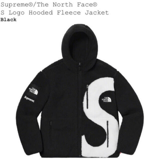 シュプリーム(Supreme)のSupreme S Logo Hooded Fleece Jacket L(ブルゾン)