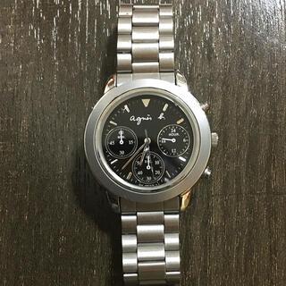 アニエスベー(agnes b.)のagnes b. chronograph 腕時計(腕時計(アナログ))
