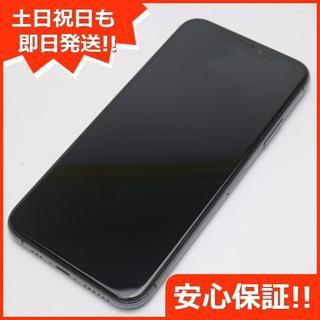 アイフォーン(iPhone)の超美品 SIMフリー iPhoneXS 256GB スペースグレイ (スマートフォン本体)