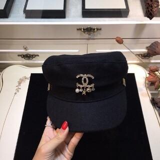 シャネル(CHANEL)の新品ラベル付き  帽子(ニット帽/ビーニー)