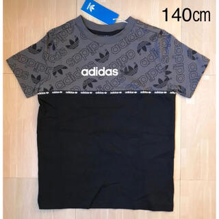 オリジナル(Original)の【海外限定】 アディダスオリジナルス  ロゴテープ Tシャツ(Tシャツ/カットソー)