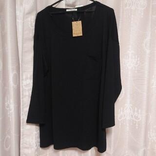 シマムラ(しまむら)の🙆胸ポケットロンT👕大きいサイズ(Tシャツ(長袖/七分))