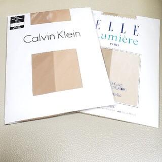 カルバンクライン(Calvin Klein)のブランドストッキング  M-Lサイズ 2足セット《新品》(タイツ/ストッキング)