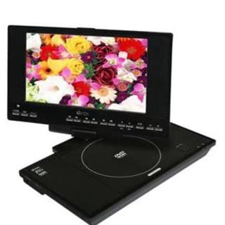保証 AVOX ワンセグチューナー内蔵 ポータブル DVDプレーヤー アボックス(DVDプレーヤー)