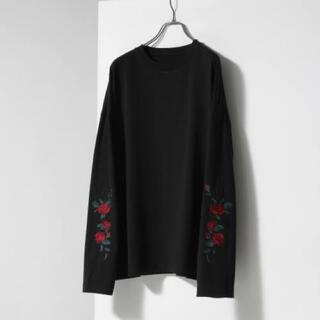 ジエダ(Jieda)のjieda  袖刺繍カットソー(Tシャツ(長袖/七分))