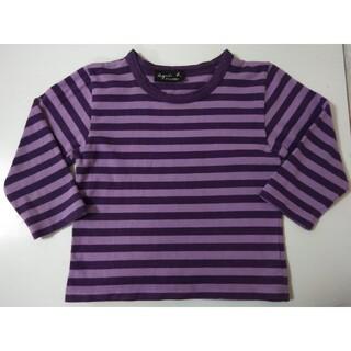 アニエスベー(agnes b.)のアニエスベー ボーダーカットソー 長袖Tシャツ ロンT 4歳用 100〜110(Tシャツ/カットソー)