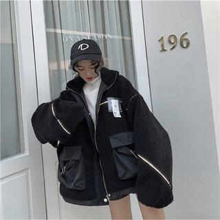 スタイルナンダ(STYLENANDA)の韓国ファッション♡ボアブルゾン♡新品未使用(ブルゾン)