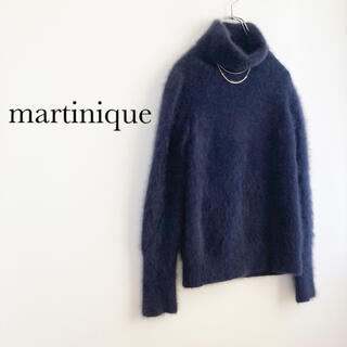 martinique Le Conte - ★マルティニーク★タートルネックファーニット プルオーバー