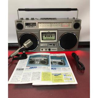 ヒタチ(日立)のHITACHI日立パディスコ ラジカセTRK-8020 メンテナンス済み中古品(ラジオ)