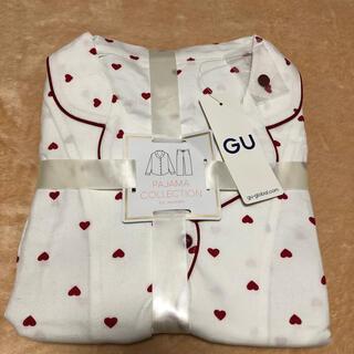 ジーユー(GU)の【新品】GU パジャマ ハート 長袖 XL(パジャマ)