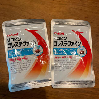 カゴメ(KAGOME)のリコピン コレステファイン2袋(ダイエット食品)
