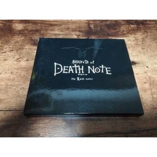 映画サントラCD「デスノートSOUND of DEATH NOTE the La(映画音楽)