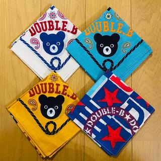 ダブルビー(DOUBLE.B)のDOUBLE.B バンダナ4枚セット(その他)