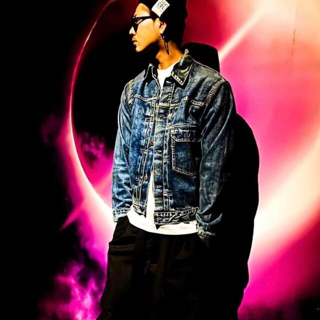 三代目 J Soul Brothers(サンダイメジェイソウルブラザーズ)のClair de lune デニムジャケット メンズのジャケット/アウター(Gジャン/デニムジャケット)の商品写真