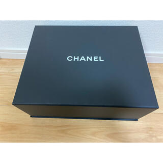 シャネル(CHANEL)の未使用♫大きいサイズ♫シャネルショップケース♫(ショップ袋)