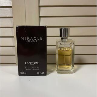 ランコム(LANCOME)の希少廃盤 ランコム ミラクオム Miracle Homme オードトワレ 香水(香水(男性用))