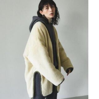 エンフォルド(ENFOLD)の美品 ナゴンスタンス☆ボアドルマンジャケット コート(ブルゾン)