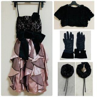 セシルマクビー(CECIL McBEE)のセシルマクビー ドレス4点セット(ミディアムドレス)