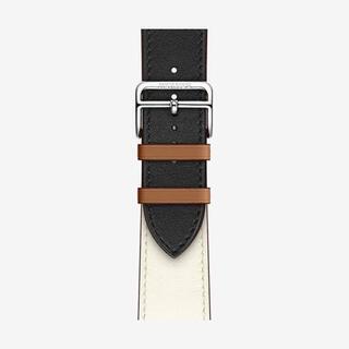 Hermes - 最終値下 HERMES Apple Watch 用レザーベルト 44mm用