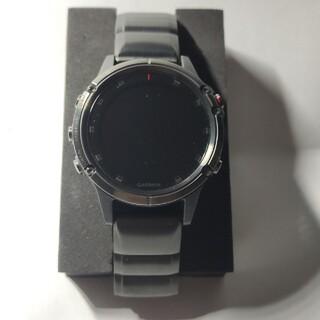 ガーミン(GARMIN)のGARMIN Fenix 5plus sapphire Black DLC(腕時計(デジタル))