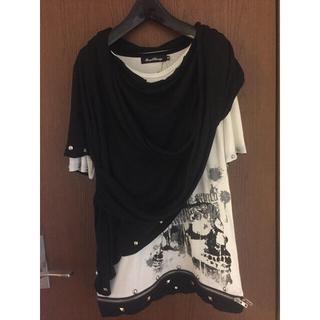 セックスポット(SEXPOT)のSEXPOT REVENGE 重ね着風カットソー(Tシャツ/カットソー(半袖/袖なし))