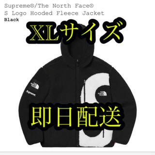 シュプリーム(Supreme)のTHE North Face S Logo Hooded Fleece 黒 XL(ブルゾン)