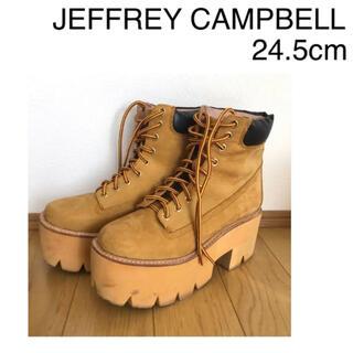 ジェフリーキャンベル(JEFFREY CAMPBELL)のジェフリーキャンベル 倖田來未 ティンバーランド 厚底 (ブーツ)
