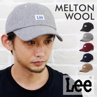 リー(Lee)のキャップ LEE リー LOW CAP MELTON メルトンキャップ グレー(キャップ)