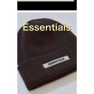 フィアオブゴッド(FEAR OF GOD)のFOG Essentials Beanie エッセンシャルズ ビーニー ブラック(ニット帽/ビーニー)