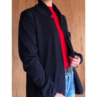 マーガレットハウエル(MARGARET HOWELL)の美品 マーガレットハウエル ニット カーディガン(ニット/セーター)