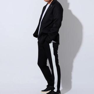 バレンシアガ(Balenciaga)のロコンド 宮迫Editionジャケット パンツ セットアップ リザード ヒカル(テーラードジャケット)