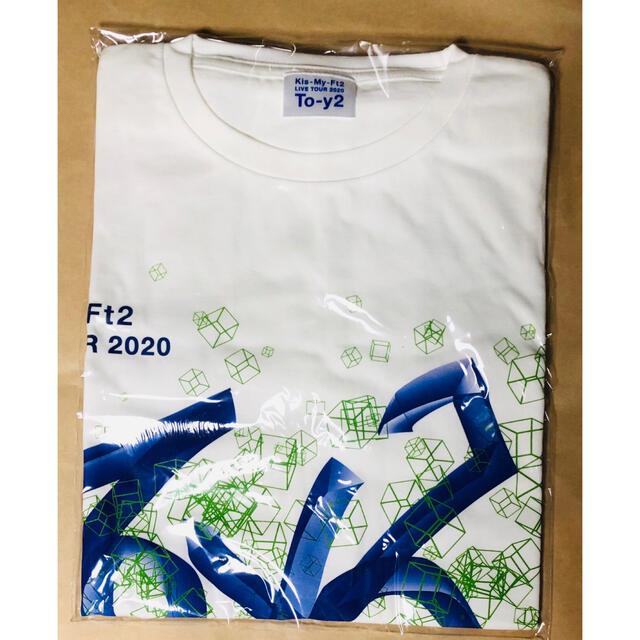 Kis-My-Ft2(キスマイフットツー)のKis-My-Ft2 To-y2 Tシャツ エンタメ/ホビーのタレントグッズ(アイドルグッズ)の商品写真