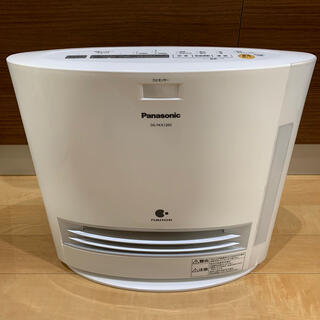 パナソニック(Panasonic)のpanasonic 加湿 セラミックファンヒーター DS-FKX1205-W(電気ヒーター)