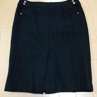 クードシャンス(COUP DE CHANCE)のウールタイトスカート(ひざ丈スカート)