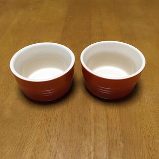 ルクルーゼ(LE CREUSET)のルクルーゼ ラムカン オレンジ (食器)