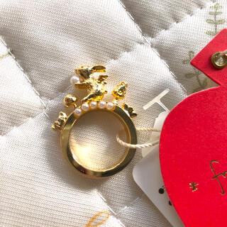 フランシュリッペ(franche lippee)のフランシュリッペ うさぎ リング 指輪 アクセサリー 新品 9号(リング(指輪))