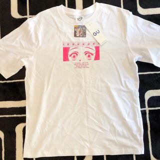ジーユー(GU)のGUコラボ ねずこTシャツ Sサイズ(Tシャツ/カットソー(半袖/袖なし))