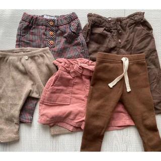 ザラキッズ(ZARA KIDS)のZARAベビー 韓国子供服 ズボンセット 80(パンツ)