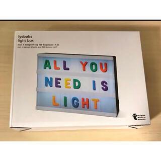 イケア(IKEA)のフライングタイガー ライトボックス(ウェルカムボード)