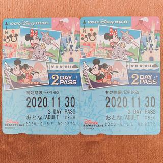 ディズニー(Disney)のディズニーリゾートライン★2DAY★パス(遊園地/テーマパーク)