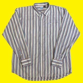 エニーチェ(ENYCE)のENYCE STRIPE L/S SHIRTS エニーチェ ストライプ シャツ(シャツ)