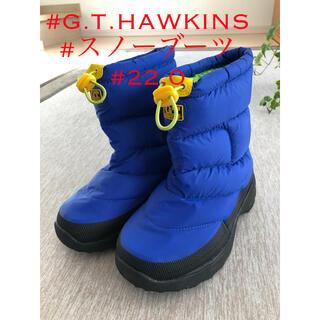 ジーティーホーキンス(G.T. HAWKINS)のG.T.HAWKINS スノーブーツ 22.0(ブーツ)