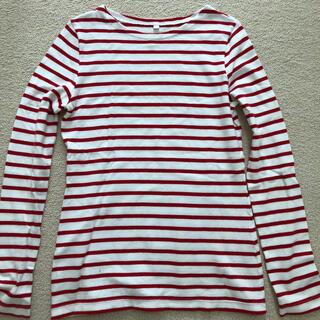 プチバトー(PETIT BATEAU)のプチバトー ボーダー カットソー Tシャツ 値下げ(カットソー(長袖/七分))