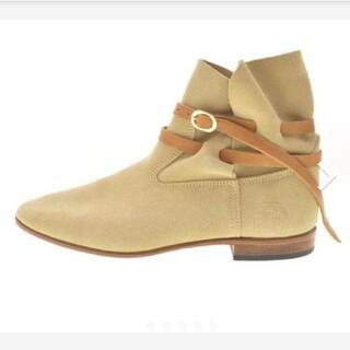 ユナイテッドアローズ(UNITED ARROWS)のLABOTTEGARDIANEスウェードショートブーツ(ブーツ)