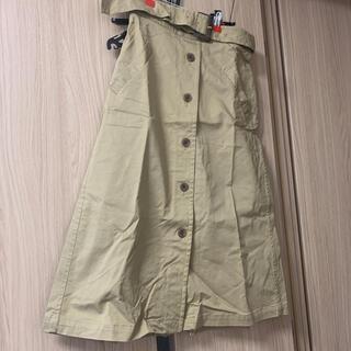 シップス(SHIPS)のSHIPS トレンチスカート 38(ロングスカート)