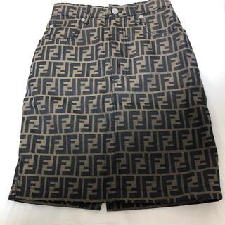 フェンディ(FENDI)のFENDI ヴィンテージタイトスカート(ミニスカート)