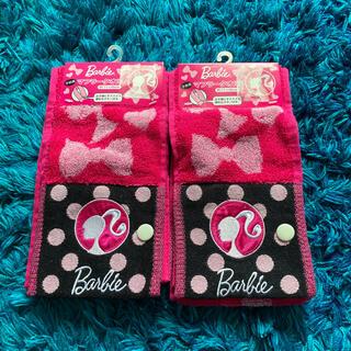 バービー(Barbie)のバービー マフラータオル2枚セット(その他)