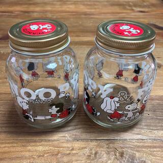 ピーナッツ(PEANUTS)の空き瓶 2つ(容器)