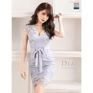 ローブ(ROBE)の【Dea. by ROBE de FLEURS】スパンコールフラワー刺繍 ドレス(ミニドレス)