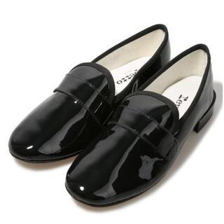 レペット(repetto)のrepetto  パテントローファーマイケル ブラック(ローファー/革靴)
